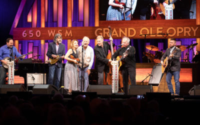THE STEELDRIVERS SHARE OPRY STAGE WITH LEGENDARY ACTOR BILL MURRAY AND ULTIMATE COUNTRY FOLK SINGER JOHN PRINE